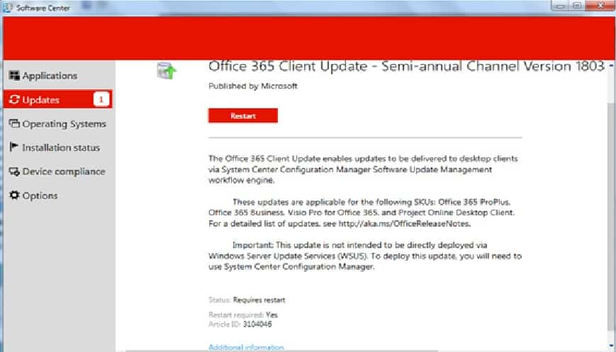 Learn How to Manage Office 365 Client Upgrade from SCCM 3