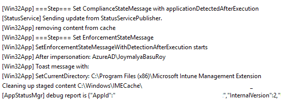 Intune Management Extension (IME) - Set Compliance State