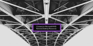 Connect to Microsoft WVD Remote Desktop Resources