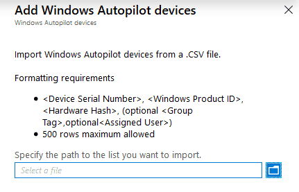 Windows Autopilot - upload device hash - Windows Autopilot Behind the Scenes