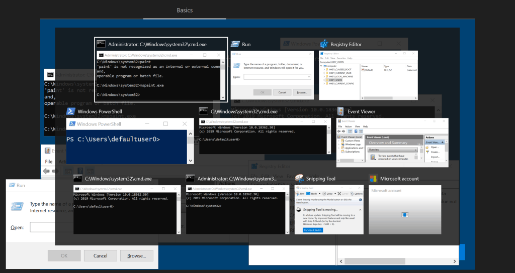 Windows Autopilot WhiteGlove - Alt+Tab to cycle through tools in OOBE