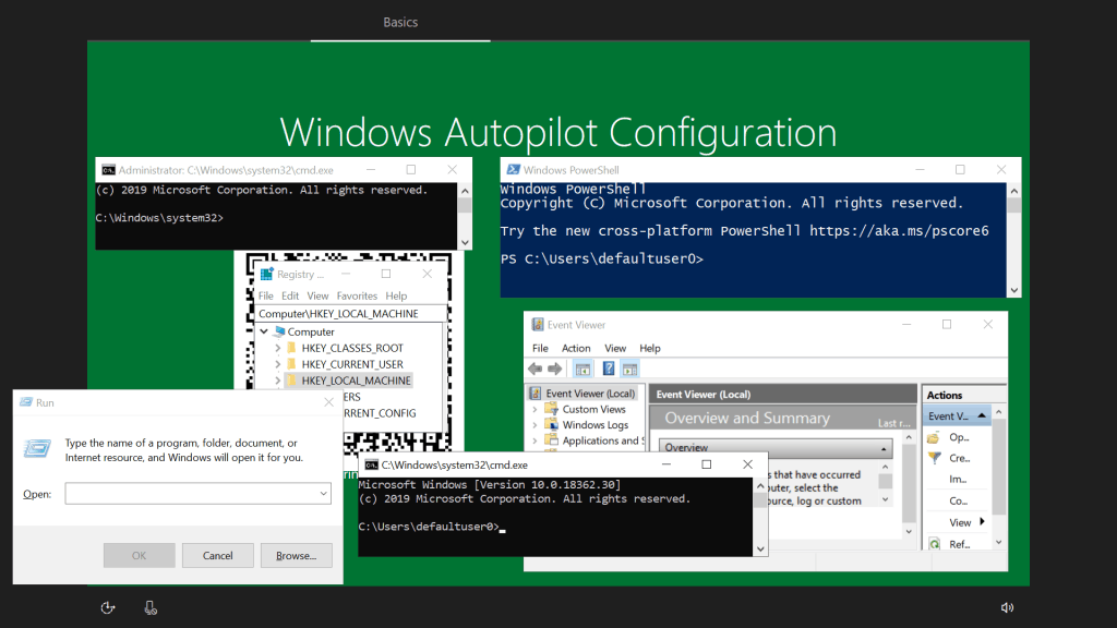 Windows Autopilot WhiteGlove - Tools to collect logs from OOBE itself