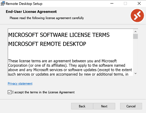 Install RD Client WVD - Windows Virtual Desktop