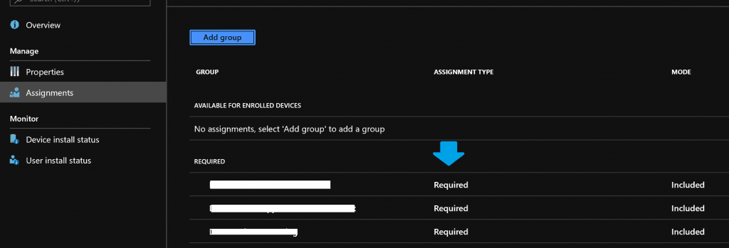 Multi-Session Intune Hybrid Azure AD support - Required Apps Targeted to Device Groups