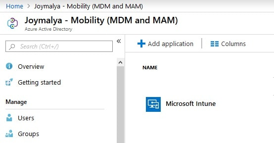 MDM configured in Azure - Window Autopilot WhiteGlove