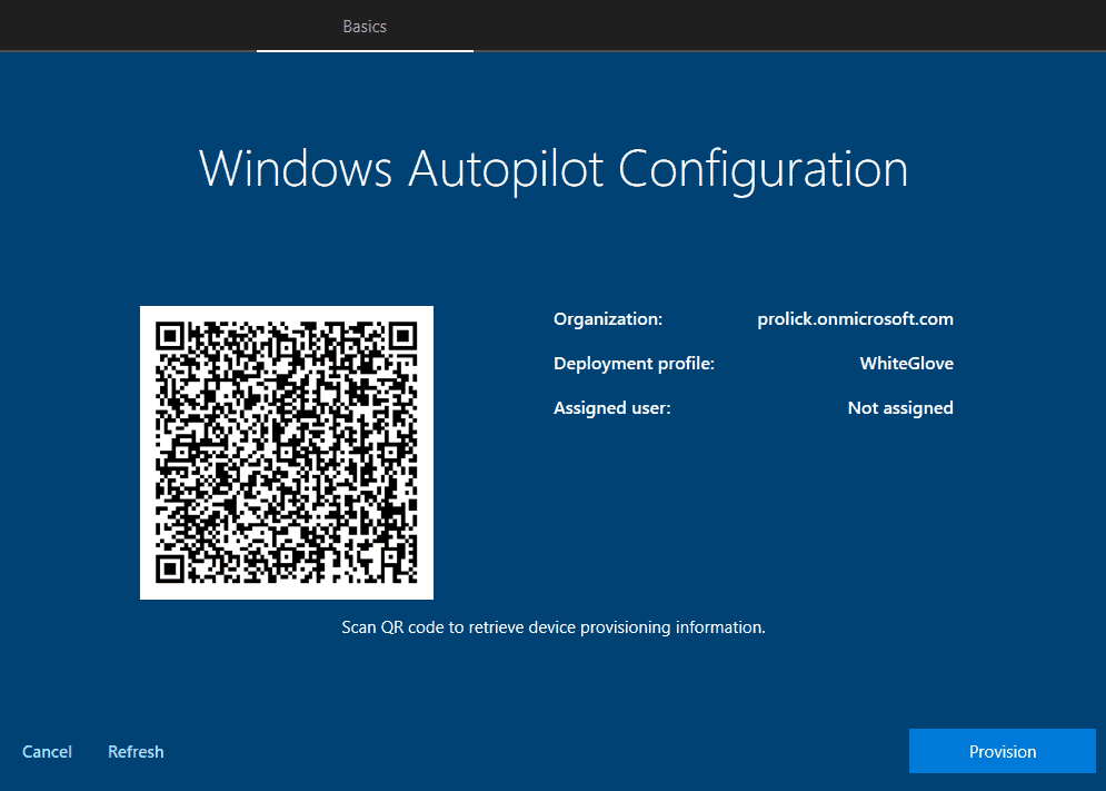 Windows Autopilot FAQ - WhiteGlove process