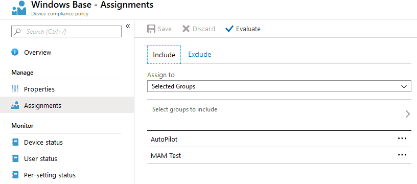Intune Policy Assignment Classification Easy Secrets