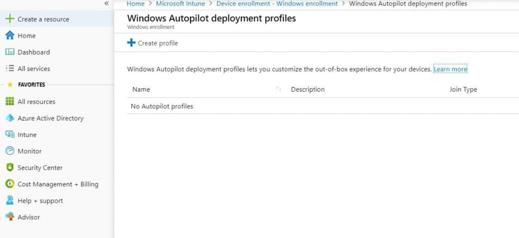 Provision Windows 10 with Windows AutoPilot Step by Step Admin Guide 5