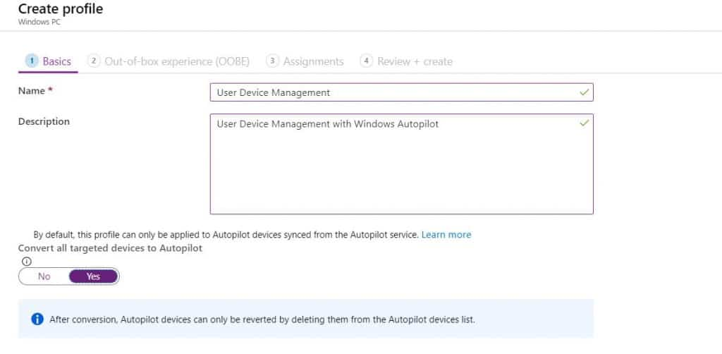 Provision Windows 10 with Windows AutoPilot Step by Step Admin Guide 6