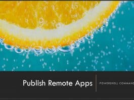 Publish WVD Remote Apps