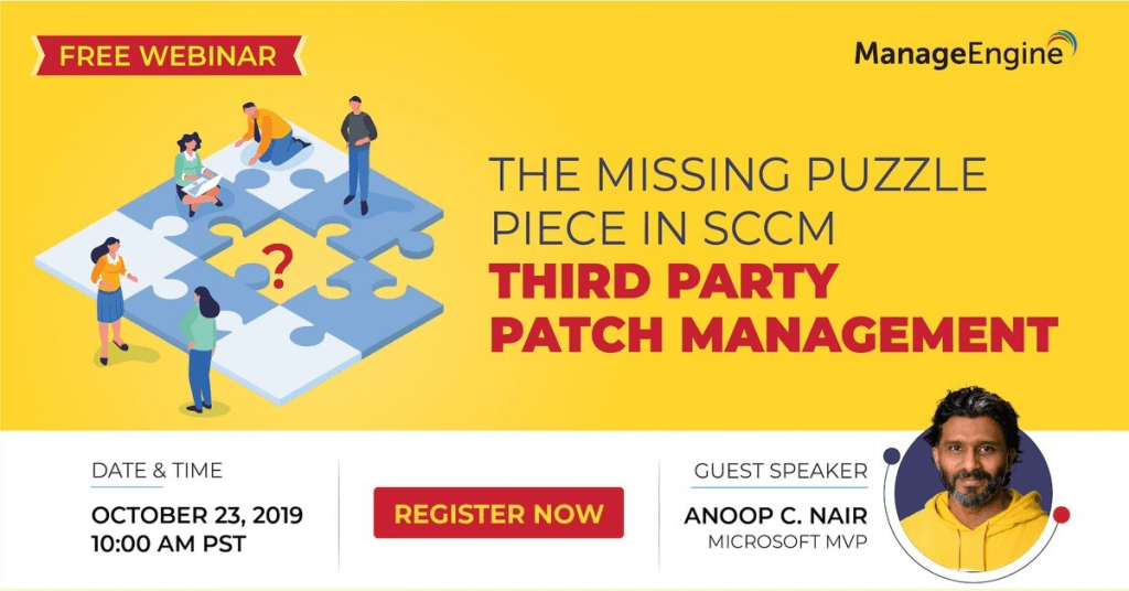 SCCM 3rd Party Patching