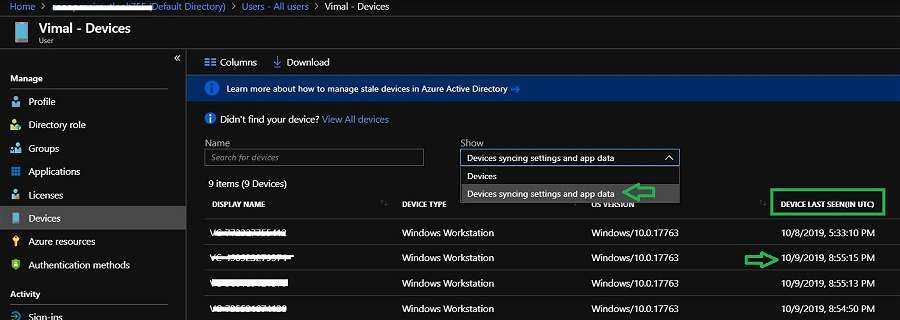 Devices syncing settings and app data - Enterprise State Roaming -ESR - Windows Autopilot