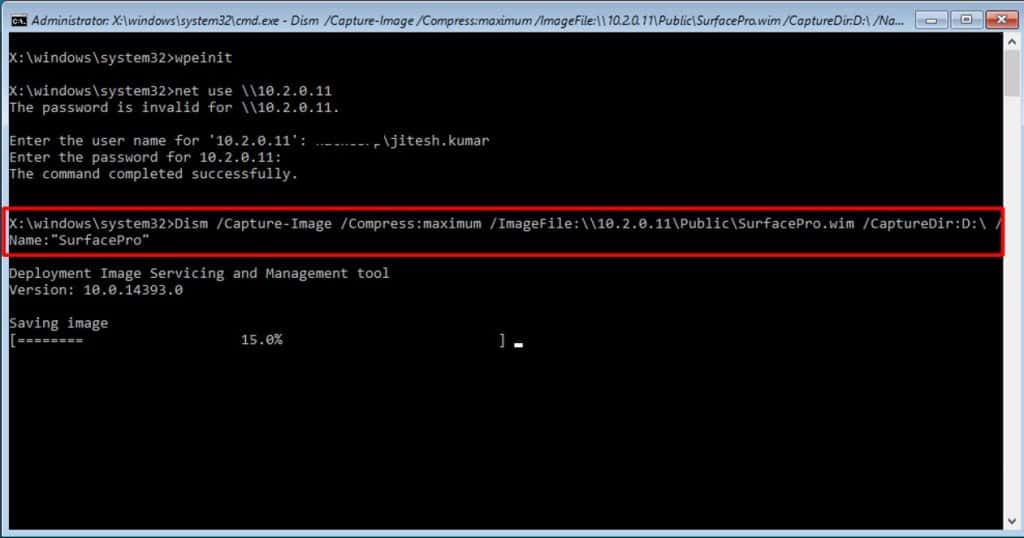 Learn How to Sysprep Capture Windows 10 Image using DISM 14