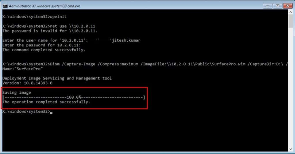 Learn How to Sysprep Capture Windows 10 Image using DISM 15