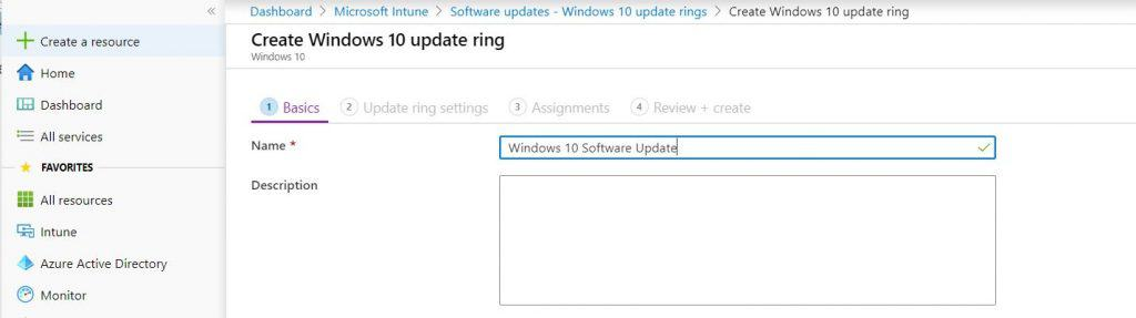 Software Update Patching Options with Intune