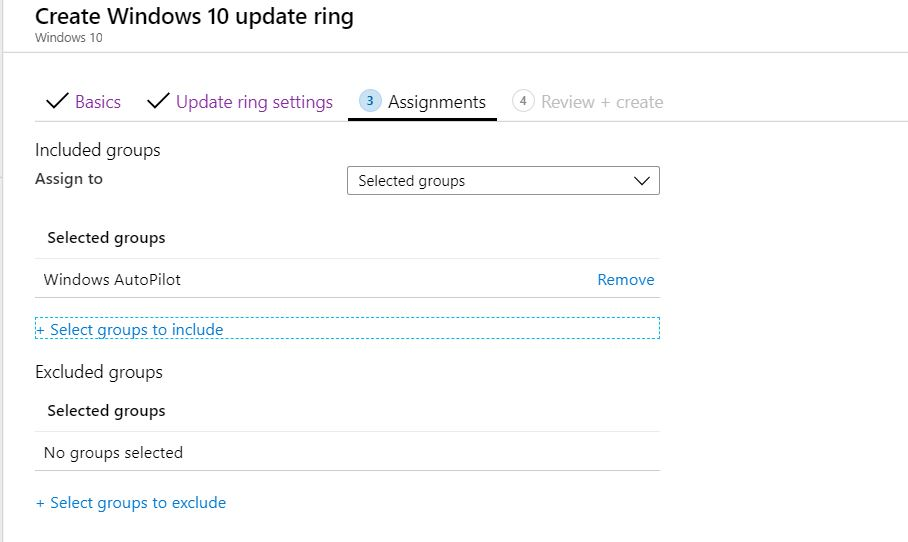 Windows 10 Software Update Patching Options with Intune WUfB 1