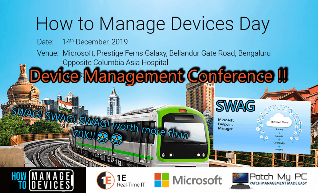 Device Management Conference BLR