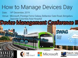 Device Management Conference BLR