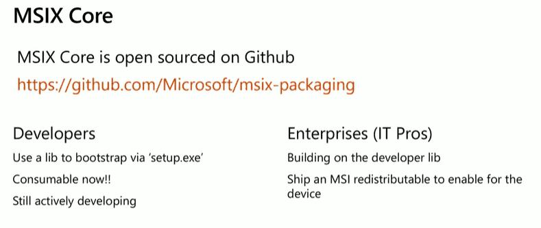 MSIX updates - MSIX Core