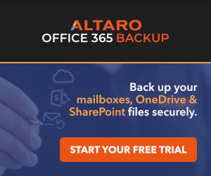 Altaro Office 365 Backup