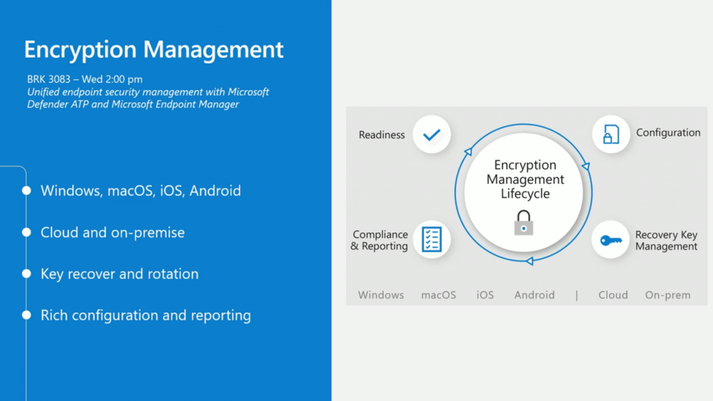 Encryption Management Overview - Intune Endpoint Security