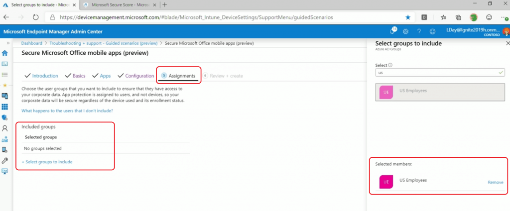 Guided Scenarios for Intune Admins