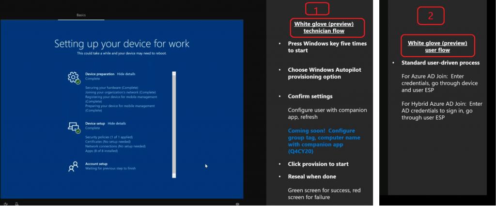 Windows Autopilot Updates Timelines Microsoft Endpoint Manager MEM 2