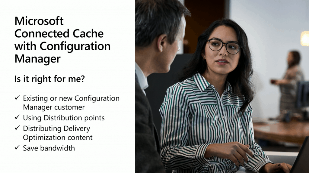SCCM and Connected Cache Integration