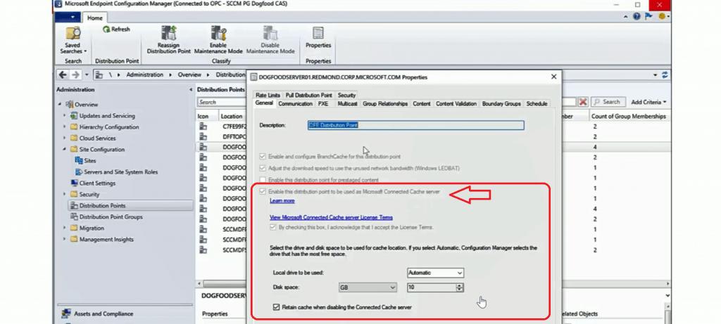 SCCM Server Side Configuration