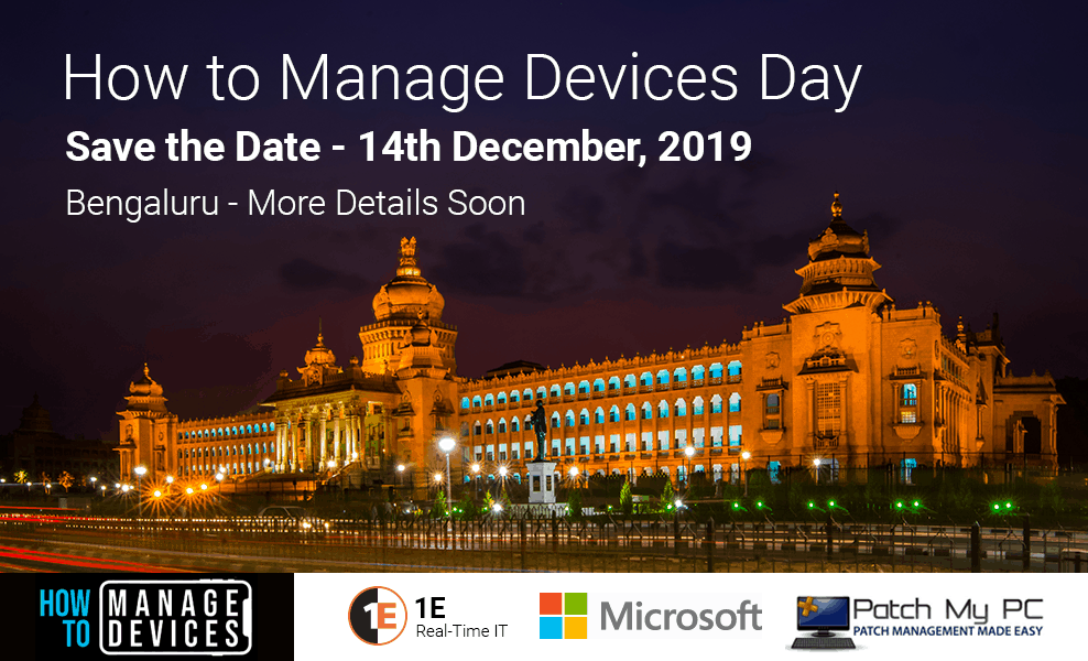 Bangalore IT Pro Event - Coming soon !!