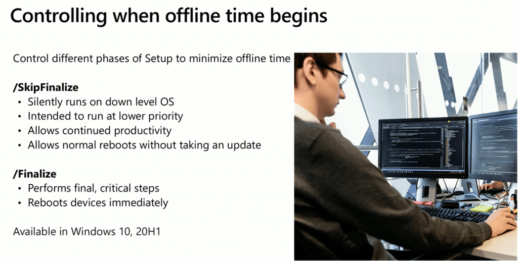 Control Windows 10 Offline Time