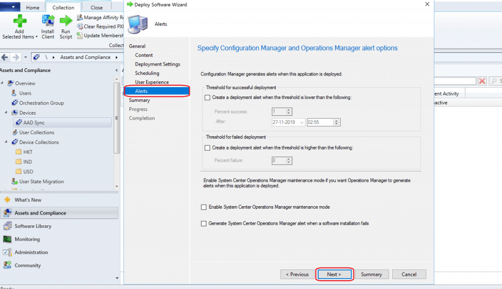 Alerts Settings for Edge Deployments