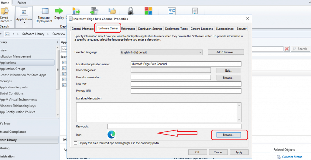 Deploy Microsoft Edge Browser with SCCM Endpoint Manager 1