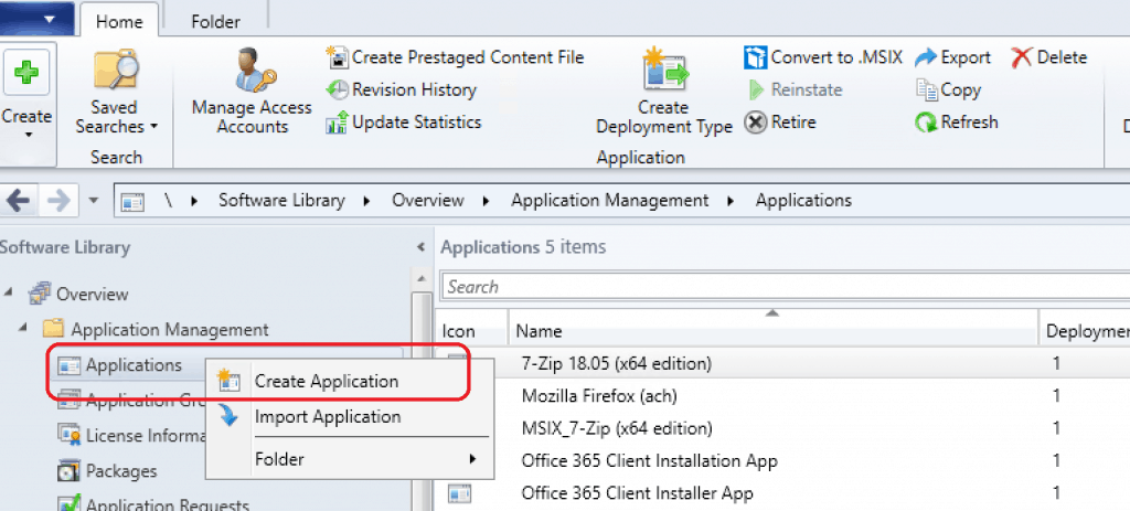 Deploy Google Chrome with SCCM  - Create Google Chrome Application