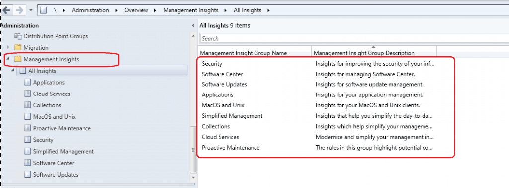 SCCM 1910 Management Insights
