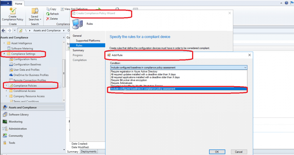 SCCM Custom Compliance Policies