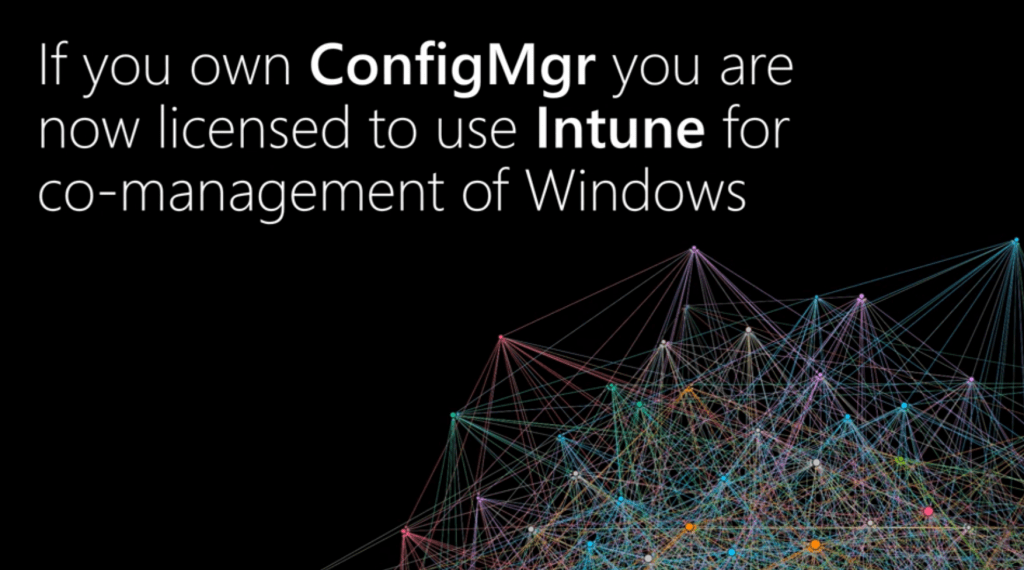 SCCM License will be Intune License for Windows Co-Management Scenario