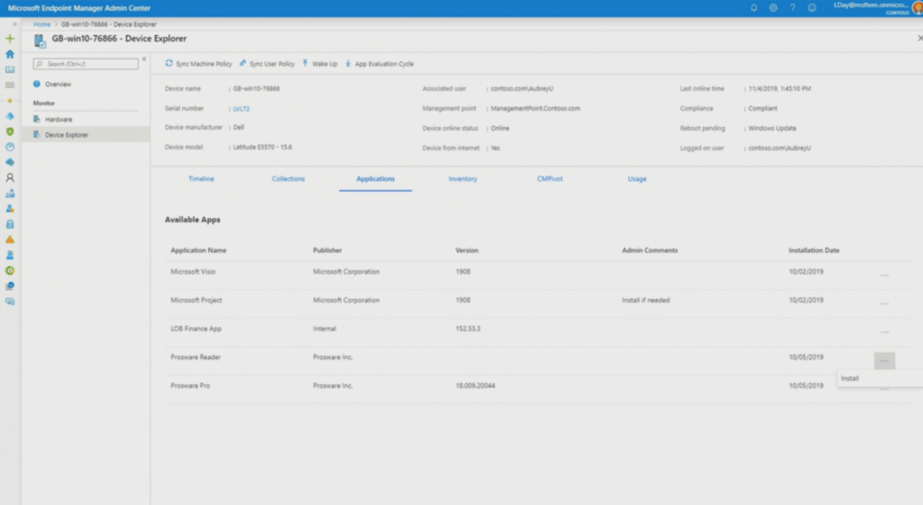 Microsoft Endpoint Management SCCM Intune Windows Updates from Ignite 2019 7