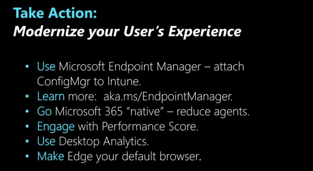 Microsoft Endpoint Management SCCM Intune Windows Updates from Ignite 2019 27