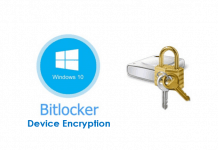 Bitlcoker Device Encryption