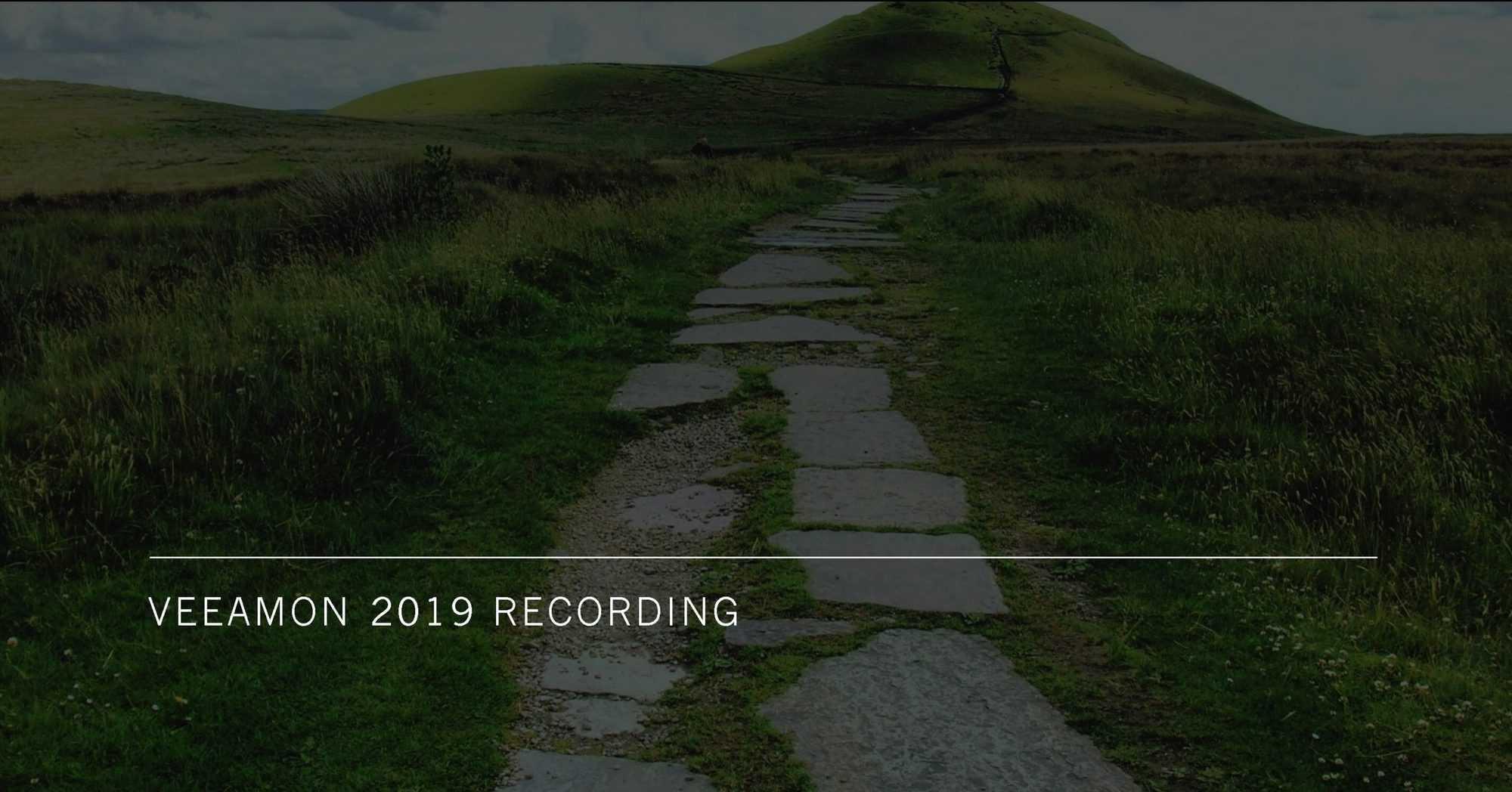 VeeamON Virtual 2019