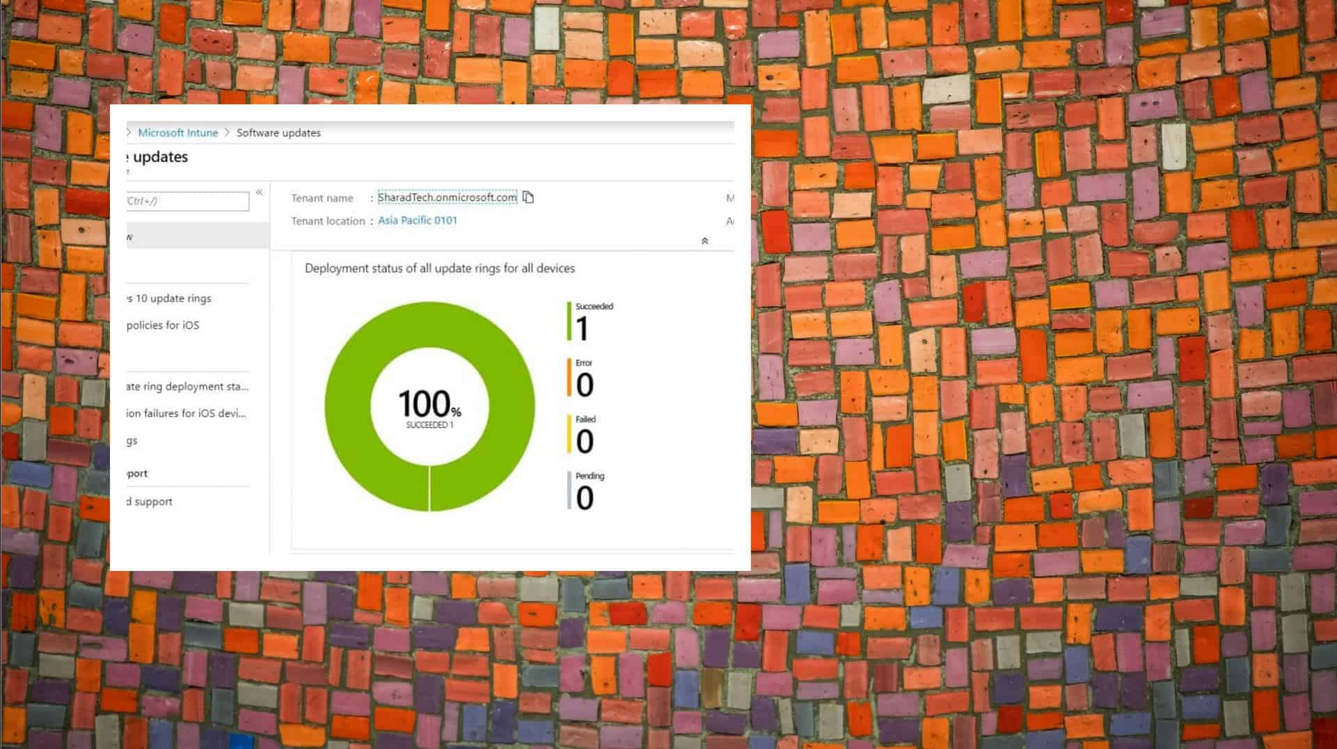 Win 10 patching with Intune