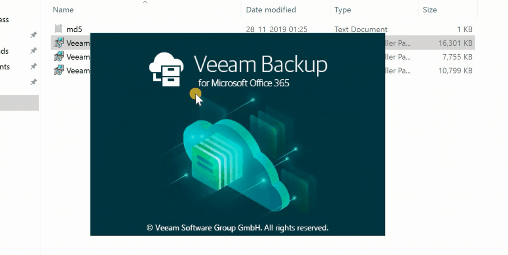 Download Office 365 Backup