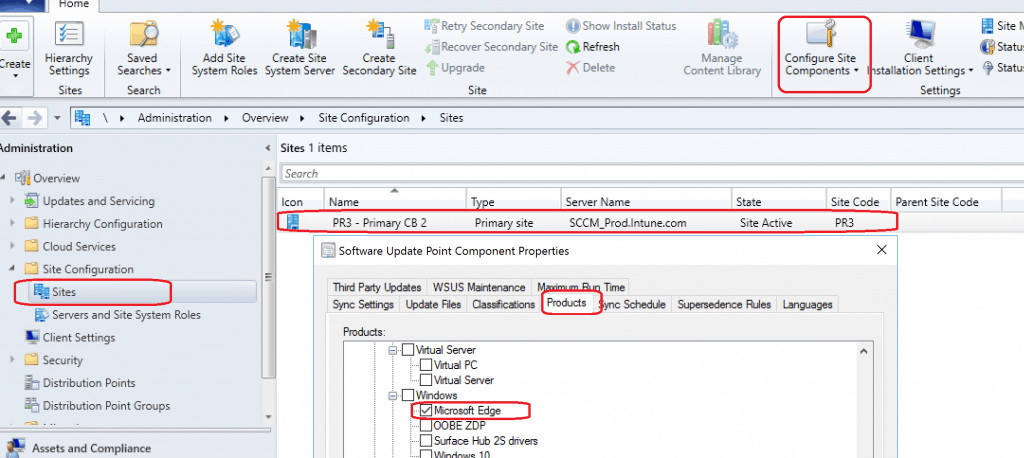 Deploy Microsoft Edge Patches with SCCM Software Updates ConfigMgr Part 1 1
