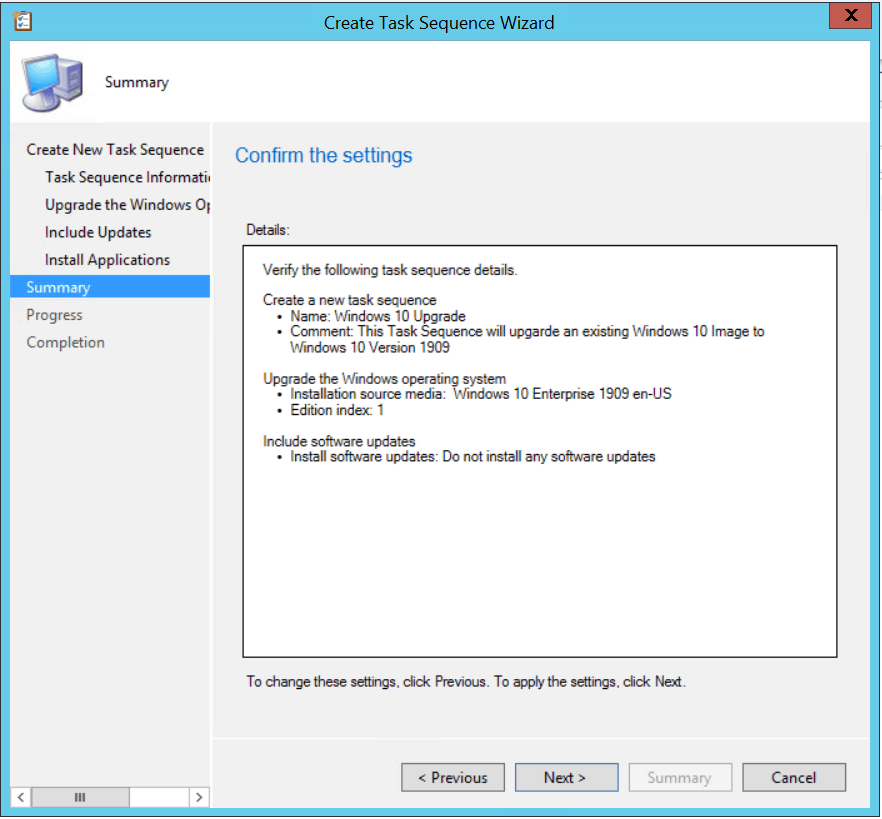 Windows 10 1909 Upgrade Using SCCM Task Sequence|ConfigMgr 7