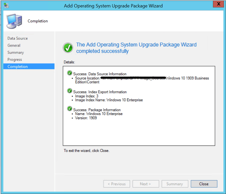 Windows 10 1909 Upgrade Using SCCM Task Sequence|ConfigMgr 4