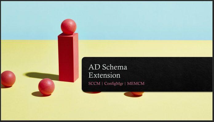 AD Schema Extension