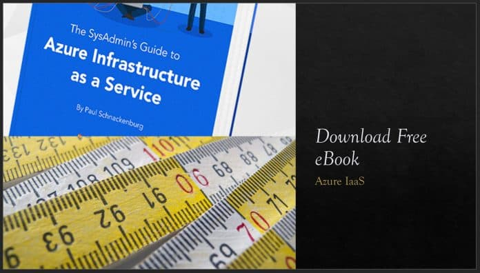Azure Infrastructure as a Service Free eBook