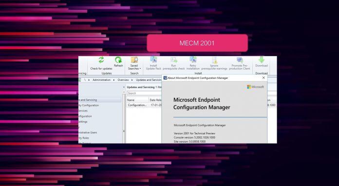 Configuration Manager 2001