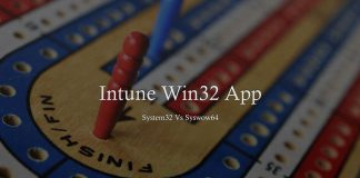 Intune Win32 App Deployment Challenges System32 Vs Syswow64